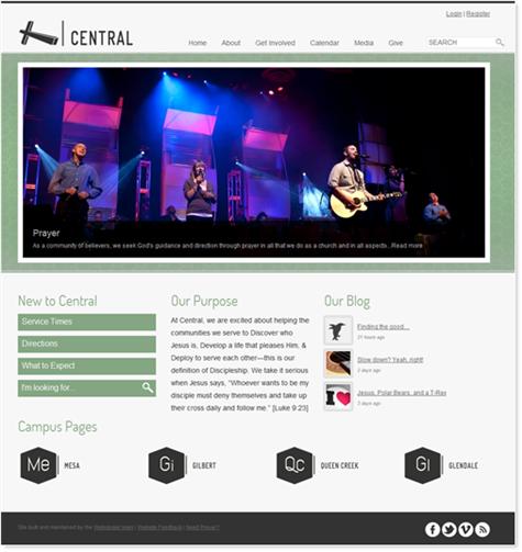 """5th Generation CentralAZ.com website - aka """"007"""""""
