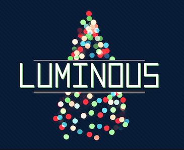 Central Christian Church's Christmas Luminous Graphic